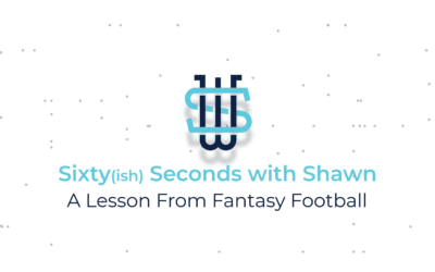A Lesson From Fantasy Football