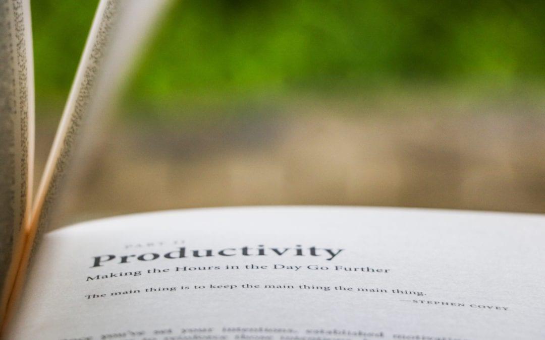 My Toolbox: Productivity